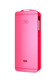 'Iwalk Charge It+ (25600mah) Rechargeable Backup Battery With Built-in Cable (hot Pink)' Multi Format and Universal