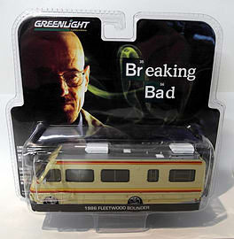 Greenlight 1/64 Scale - 33021 Breaking Bad 1986 Fleetwood Bounder motor home Scaled Models