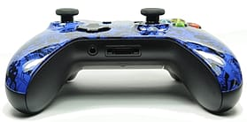 Blue Skulls Scrawl Xbox One Custom Controller screen shot 3