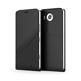 Mozo Qi Wireless Charging Notebook Flip Cover for Microsoft Lumia 950XL Mobile phones