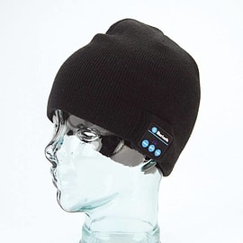 Wireless Bluetooth Music Hat with Hands-free Multi Format and Universal