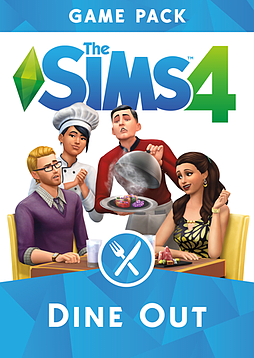 The Sims 4 Dine Out Game Pack PC Downloads Cover Art
