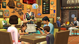 The Sims 4 Dine Out Game Pack screen shot 1