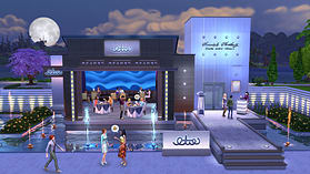The Sims 4 Dine Out Game Pack screen shot 2