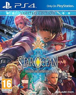 Star Ocean: Integrity and Faithlessness Limited Edition PlayStation 4 Cover Art