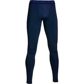 Under Armour ColdGear Armour Mens Legging Baselayer Navy/Cobalt - XXL Clothing
