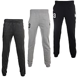 Zoo York Huston Mens Fleece Track Pant Trouser Charcoal - XL screen shot 3