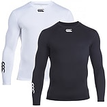 Canterbury Baselayer Cold Mens Long Sleeve Top White - XL screen shot 2