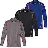 Under Armour ColdGear Armour Compression Mock Baselayer Red - XL screen shot 2