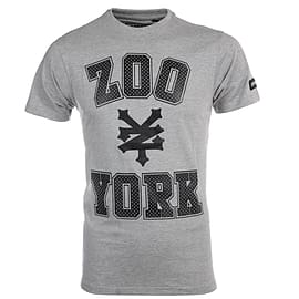 Zoo York Stone Mens Skate Fashion T-Shirt Tee Grey - S Clothing
