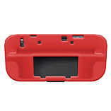Wii U RED SILICONE SOFT COVER RUBBER GEL SKIN CASE FOR NINTENDO Wii U screen shot 2