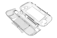 Nintendo Wii U Crystal Clear Protective Hard Case Cover - BRAND NEW screen shot 1