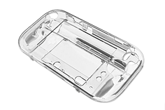 Nintendo Wii U Crystal Clear Protective Hard Case Cover - BRAND NEW screen shot 3