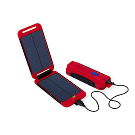 Powertraveller Waterproof Powermonkey Extreme Charger Red Mobile phones