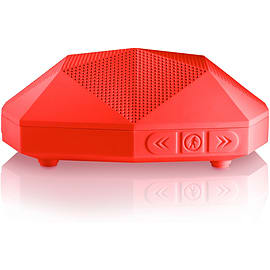 Outdoor Tech Turtle Shell Go Anywhere Boombox Red Audio