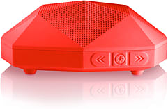 Outdoor Tech Turtle Shell Go Anywhere Boombox Red screen shot 1