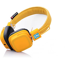 Outdoor Tech Privates Touch Control Wireless Headphones Mustard Audio