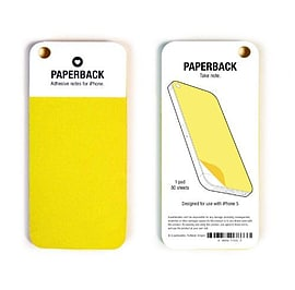 ilovehandles Paperback iPhone 5 Post-it Notes (Yellow) Mobile phones