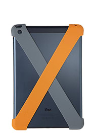 Quirky Crossover X-Band Storage Case ipad Mini-Orange Multi Format and Universal