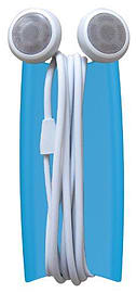 Quirky Wrapster Cable Tidy & Stand, Blue Multi Format and Universal