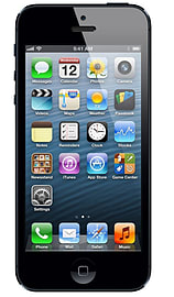 iPhone 5 32GB Black Grade B: Used - Very Good condition Phones