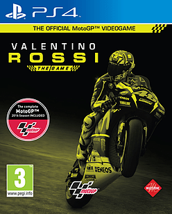 MotoGP16: Valentino Rossi PlayStation 4 Cover Art