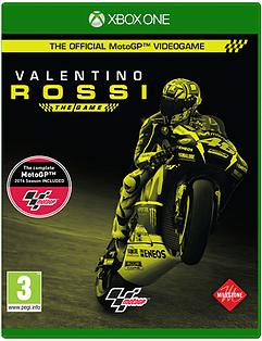 MotoGP16: Valentino Rossi Xbox One Cover Art