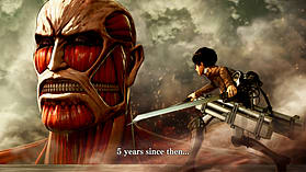 Attack On Titan: Wings of Freedom screen shot 4