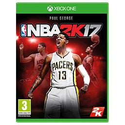 NBA 2K17 Xbox One Cover Art
