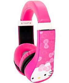 Hello Kitty Kids Safe Technology Headphones. Audio
