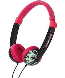Monster High Kids Safe Headphones. Audio