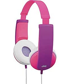 JVC Kids Headphones With Volume Limiter - Pink And Violet. Audio