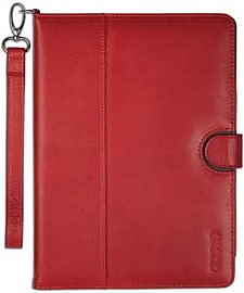 Odoyo Genuine Leather Folio Case For Ipad Air - Red. Tablet