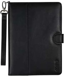 Odoyo Genuine Leather Folio Case For Ipad Air - Black. Tablet