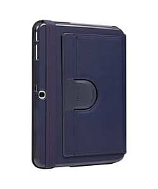 Targus Slim Rotating Case Stand For Samsung Galaxy 4 - Blue. Tablet