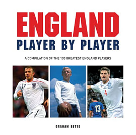Football England Player By Player Books