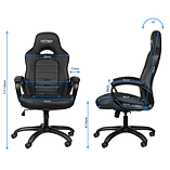 Nitro Concepts C80 Pure Series Gaming Chair - Black screen shot 1