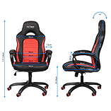 Nitro Concepts C80 Pure Series Gaming Chair - Black/Red screen shot 2