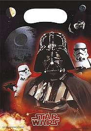 Star Wars- Villians Party Bags Party Supplies