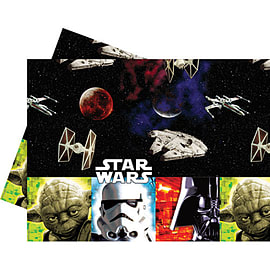 Star Wars- Plastic Tablecover Party Supplies