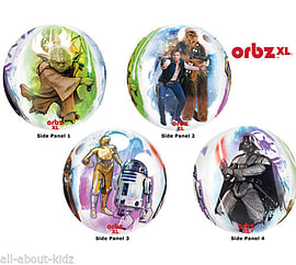 Star Wars- Orbz XL Balloon Party Supplies