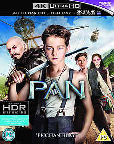 Pan (BD 4K) Blu-ray