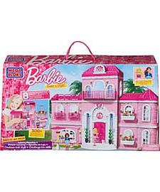 Mega Bloks Barbie Build 'N' Style Luxury Mansion. Blocks and Bricks