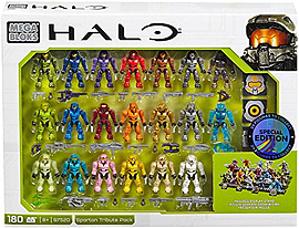 Mega Bloks Halo Spartan Tribute Pack. Blocks and Bricks