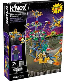 K'nex Supersonic Swirl Set. Blocks and Bricks