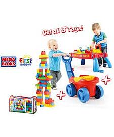 Mega Bloks First Builders Super Set. Blocks and Bricks