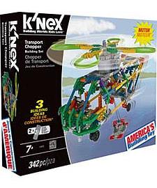 K'nex Transport Chopper. Blocks and Bricks