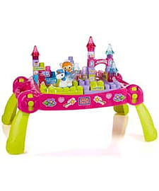 Mega Bloks First Builders Lil' Princess Fairytale Table. Blocks and Bricks