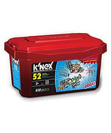 K'nex 52 Model Building Set Tub. Blocks and Bricks