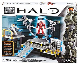 Mega Bloks Halo USN Infinity Armour Bay. Blocks and Bricks